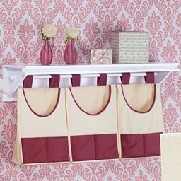 PORTA FRALDAS VARAO MY PRINCESS BORDO- 03 PCS